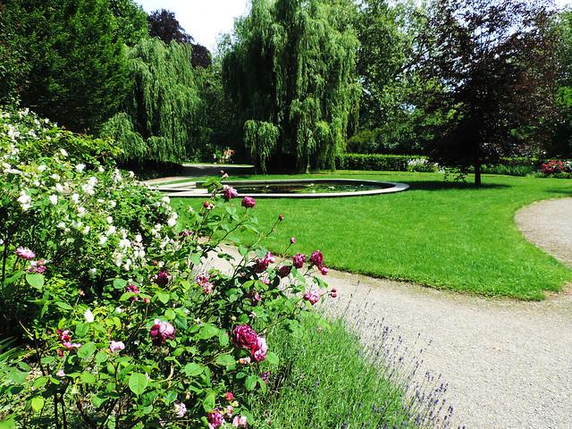 Garden Of Eggenberg Palace, Graz