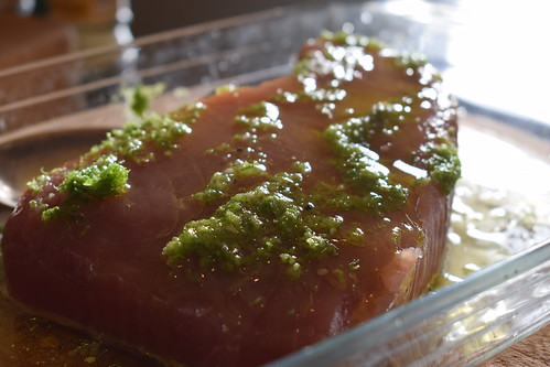 Marinading Tuna