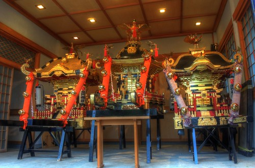 'Mikoshi' at Hokumon Shrine, Wakkanai on JUL 04, 2016 (10)