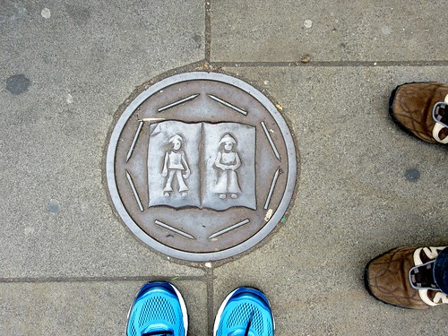 Keith Bowler Commemorative Roundels in Spitalfields