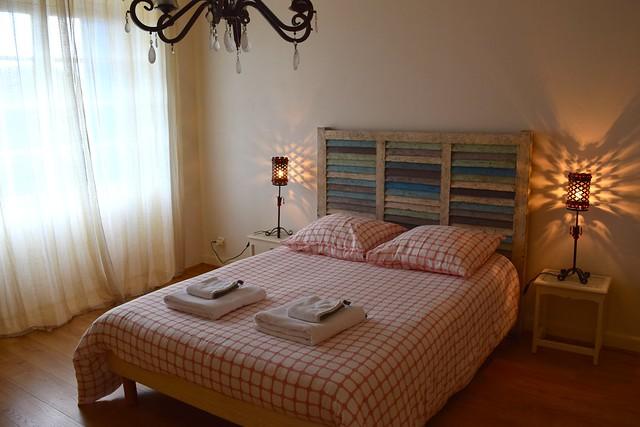 Gite Bedroom at Chateau Panniseau | www.rachelphipps.com @rachelphipps