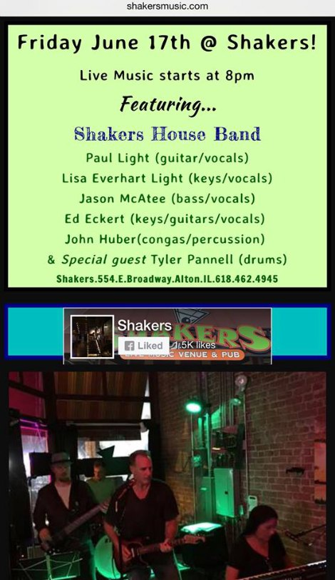 Shakers 6-17-16