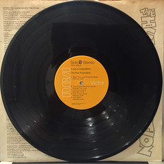 THE HUES CORPORATION:LOVE CORPORATION(RECORD SIDE-B)