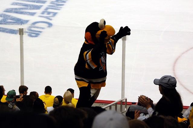 Iceburgh - Penguins mascot