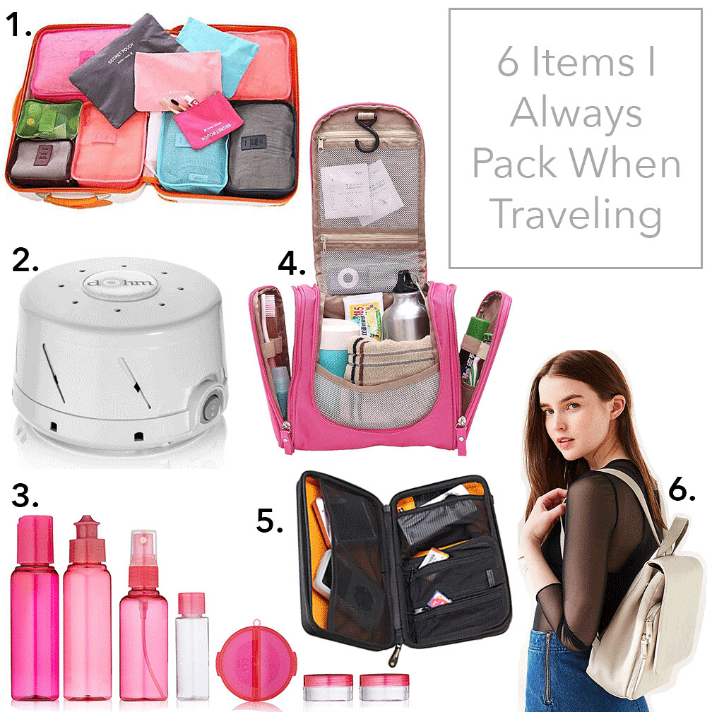 simplyxclassic, miriam gin, items i always pack when traveling, travel necessities, travel must haves, travel blog