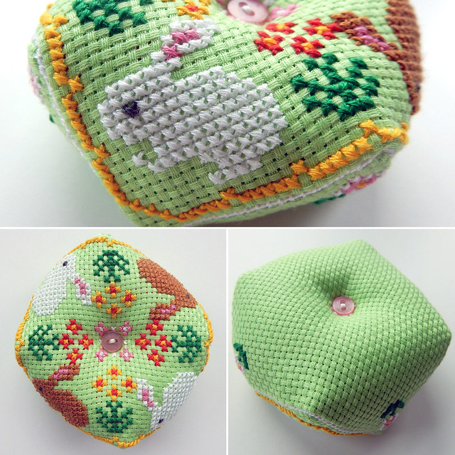 Bunny pincushion