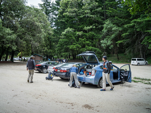 Castle Rock State Park overnight parking