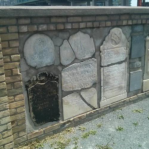 From the Military Burying Ground #toronto #doorsopen #blogtodot16 #cemetery #fortyork #tombstone