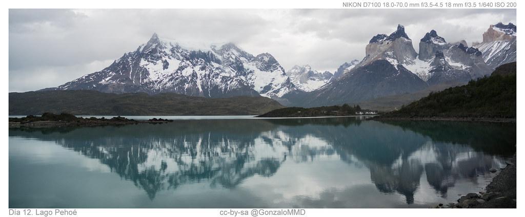 Día 12. Lago Pehoé