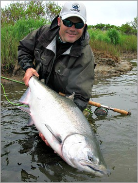Sapsuk river king salmon