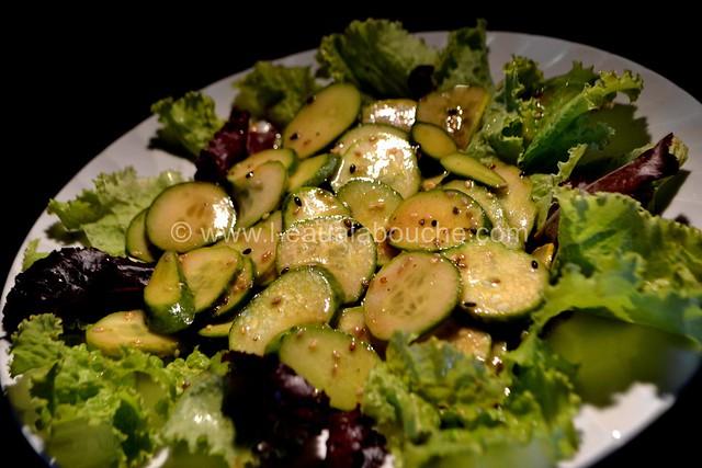 Salade de Concombres et Cornichons Marinés © Ana Luthi Tous droits réservés 13