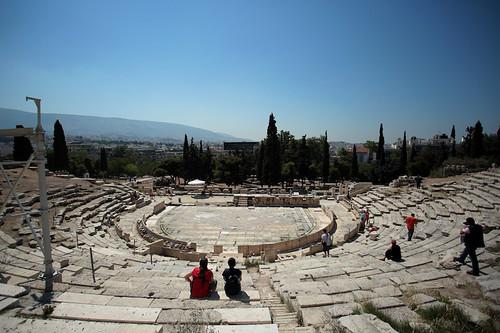 Acropoli: Teatro di Erode Attico