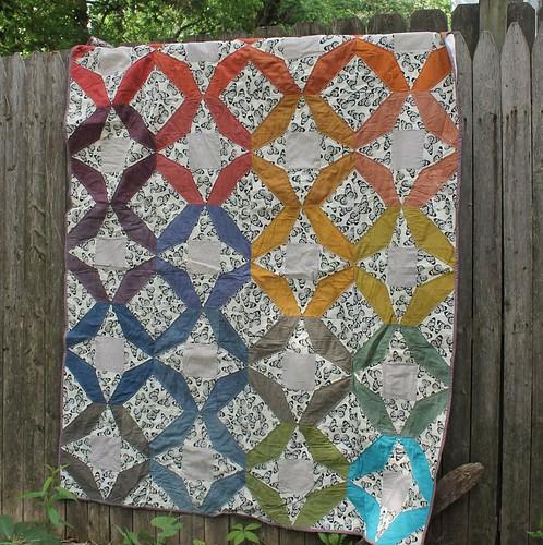 Jewelweed Rainbow Quilt