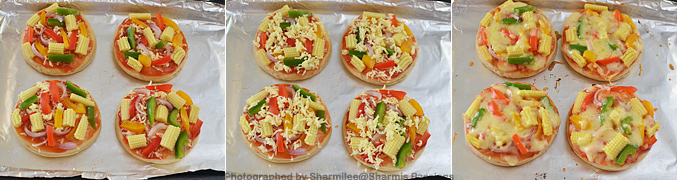 How to make Kids Mini Pizza - Step4