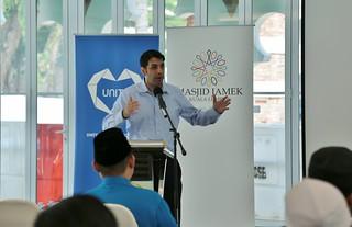 Shaarik Zafar Special Representative to Muslim Communities visit Masjid