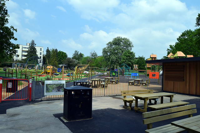 Pittville Park play area project