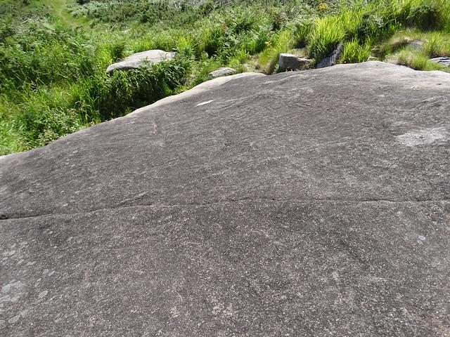 Petroglifo de A Gurita en Porto do Son