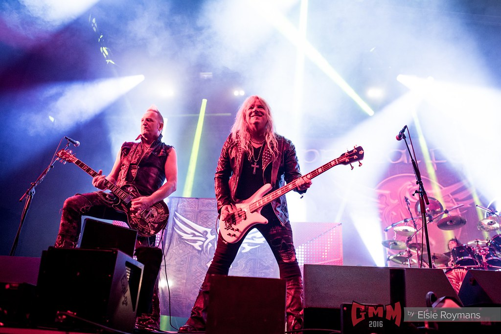 Primal Fear @ Graspop Metal Meeting 2016. Foto door Elsie Roymans