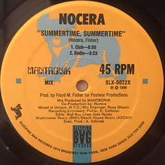 NOCERA:SUMMERTIME,SUMMERTIME(LABEL SIDE-A)