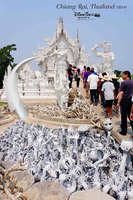 Thailand - Chiang Rai Wat Rong Khun 03