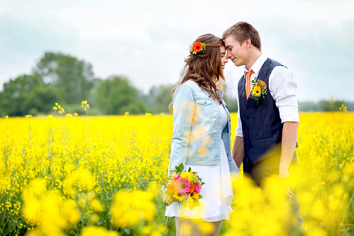 love in yellow fields
