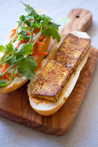 Lemongrass Tofu Banh Mi | Isabelle Boucher | Flickr