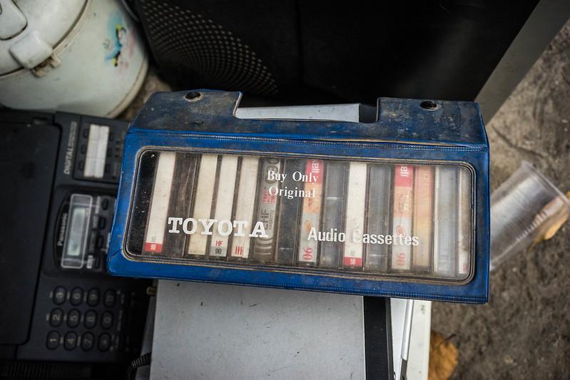 Những băng casette cũ