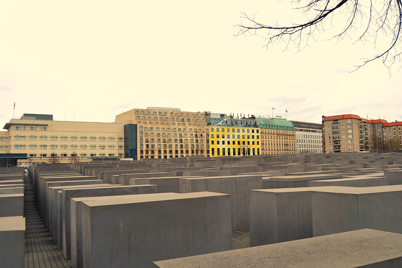 memorial jews Berlin 2016