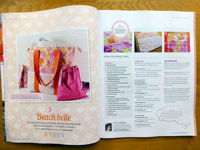 Beach Bag (Pretty Patches Aug16)
