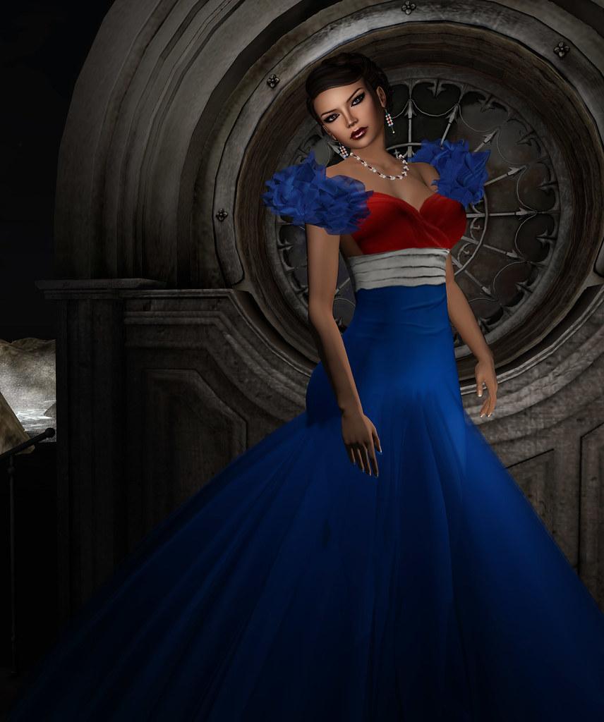 Sascha's Designs - Purr USA gown