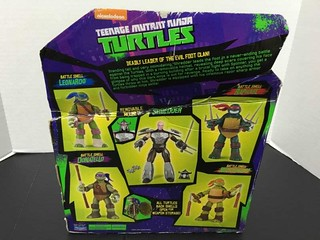 "Nickeodeon TEENAGE MUTANT NINJA TURTLES :: 11"" 'Battle Shell' SHREDDER iv (( 2014 )) [[ ebay pic ]]"