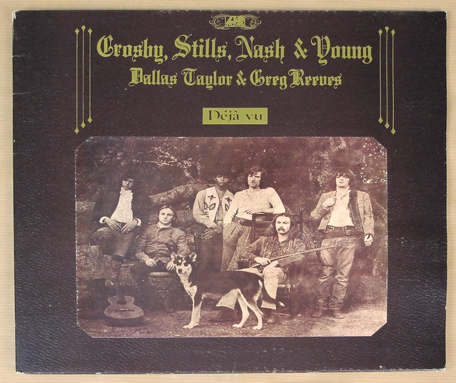 "CROSBY STILLS NASH YOUNG DEJA VU UK GATEFOLD 12"" LP VINYL"