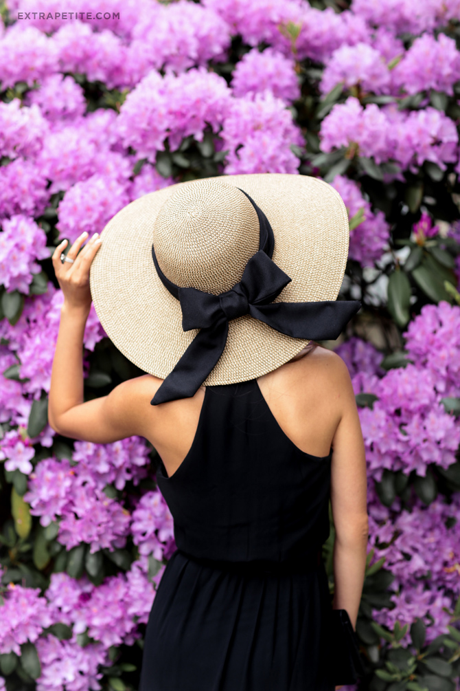 straw summer sun hat DIY ribbon sash bow