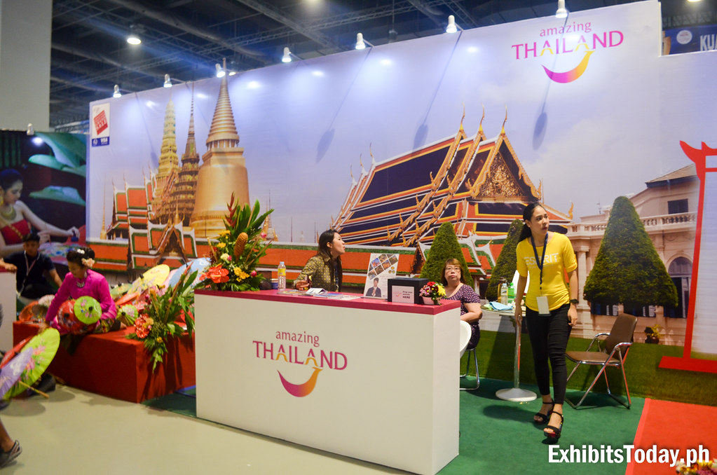 Amazing Thailand Exhibit Stand