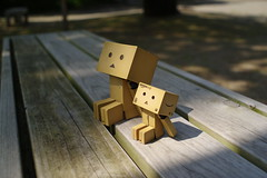 Danbo takes a rest