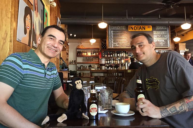 2 Davids & a Monkey