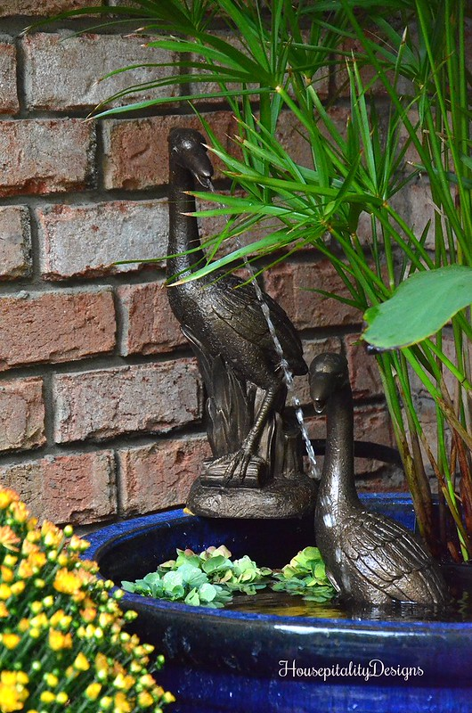 Garden Container Fountain - Housepitality Designs
