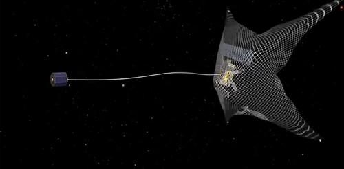 «Clean Space» готує до запуску космічного прибиральника