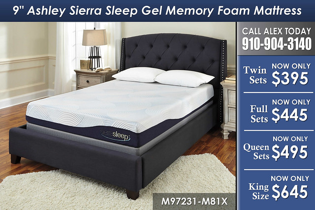 9in Ashley Sierra Sleep Gel Memory SKU