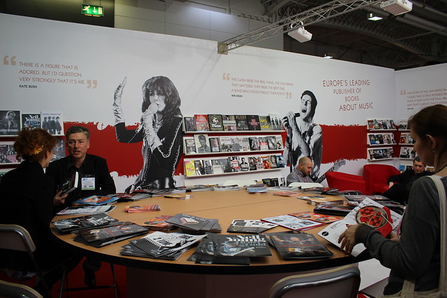 Omnibus Press - London Book Fair 2015