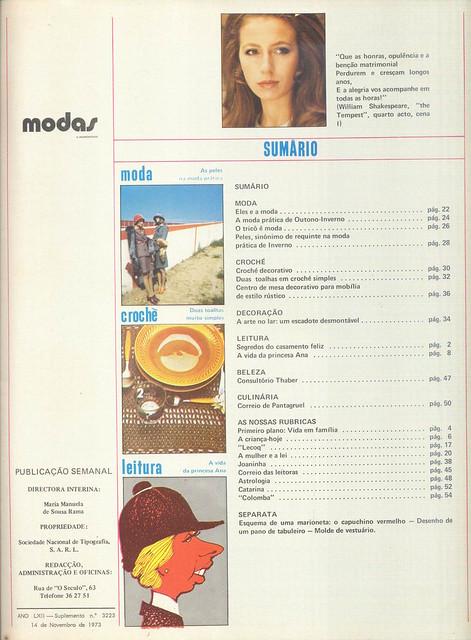 Modas e Bordados, No. 3223, 14 Novembro 1973 - 2