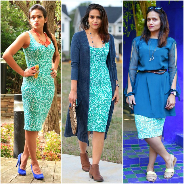 07_Three Ways To Style A Pencil Dress Tanvii.com