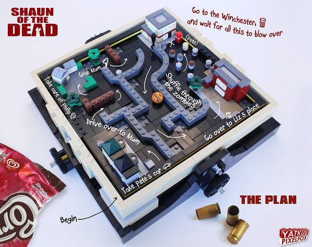 Shaun of the Dead - THE Plan