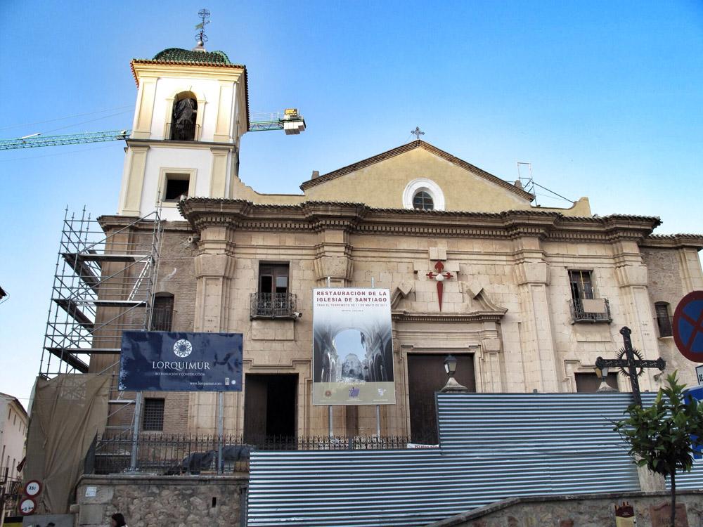 reharq_iglesia de santiago lorca_fachada_patrimonio_rehabilitación_premio europa nostra