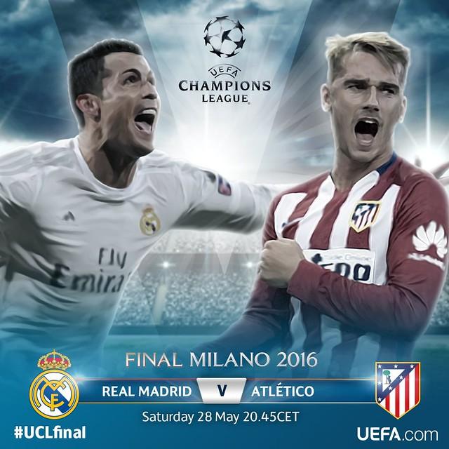 Champions League: Pocos minutos para la Final