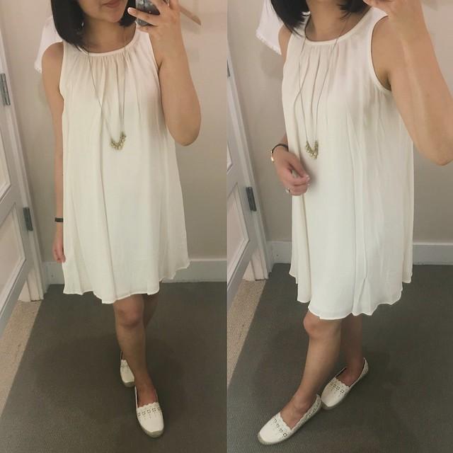 LOFT Blanca Trapeze Dress