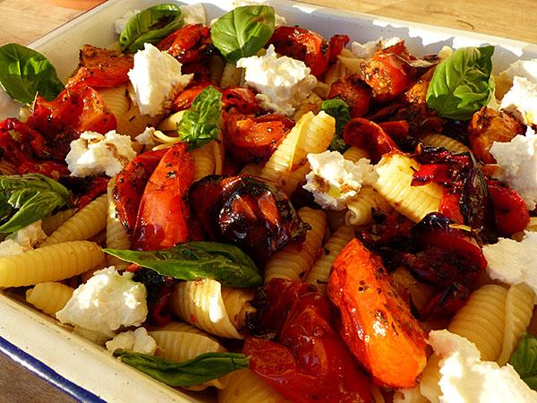 salade de pâtes à la tomate