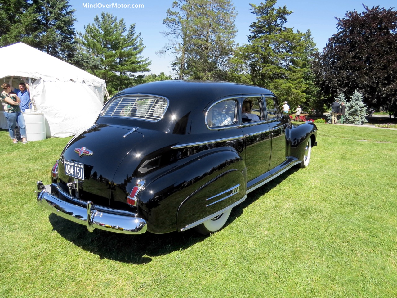 1941 Buick Limited Rear Angle