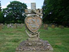 Faith, Hope, Charity (and stolen lead inscription)