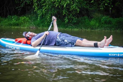 Kayaking and SUP on Saluda Lake-18